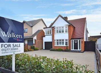 Thumbnail 4 bed detached house for sale in Potash Road, Billericay