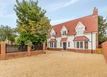 Thumbnail 4 bed detached house for sale in Lattinford Bridge, London Road, Capel St. Mary, Ipswich