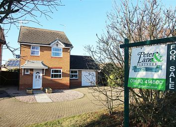 Thumbnail 3 bed detached house for sale in Wertheim Way, Huntingdon