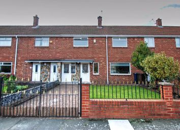 Thumbnail 3 bed terraced house for sale in Embleton Avenue, Gosforth, Newcastle Upon Tyne
