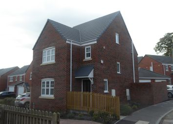 Thumbnail 4 bed detached house for sale in Smithfield Way, Ellesmere