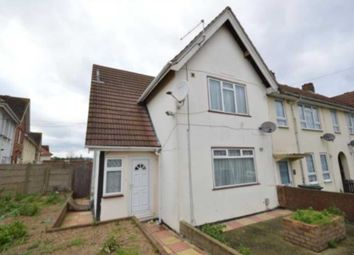 Thumbnail 3 bedroom semi-detached house to rent in Brown Road, Gravesend