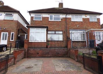 Thumbnail 3 bed semi-detached house for sale in Bryngarth Crescent, Leicester, Leicestershire, England