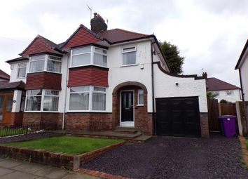 Thumbnail 3 bed semi-detached house for sale in Babbacombe Road, Childwall, Liverpool, Merseyside