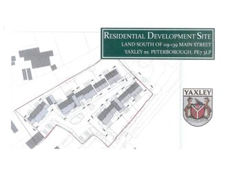 Thumbnail Land for sale in Main Street, Yaxley, Peterborough