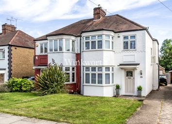 Thumbnail 3 bed semi-detached house for sale in Hadley Way, London
