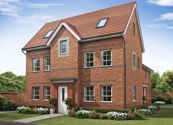 "Thumbnail 4 bedroom semi-detached house for sale in ""Hesketh"" at The Ridge, London Road, Hampton Vale, Peterborough"