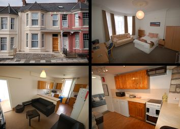 Thumbnail 8 bed terraced house for sale in Hillside Avenue, Mutley, Plymouth