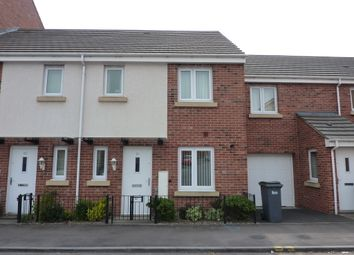 Thumbnail 3 bed town house to rent in Poundlock Avenue, Hanley, Stoke-On-Trent