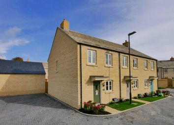 Thumbnail 2 bed semi-detached house to rent in De Borg Close, Tetbury