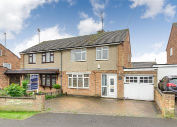 Thumbnail 3 bed semi-detached house for sale in Woodlands Road, Irchester, Wellingborough