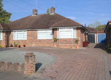 Thumbnail 2 bed semi-detached bungalow for sale in Perryfield Road, Crawley, West Sussex.