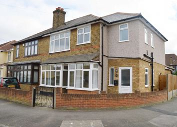 Thumbnail 2 bed flat for sale in Birkbeck Road, Rush Green, Romford