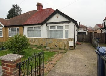 Thumbnail 2 bed semi-detached bungalow for sale in Manor Avenue, Northolt