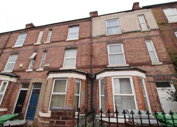 Thumbnail 4 bedroom terraced house to rent in Alfreton Road, Nottingham