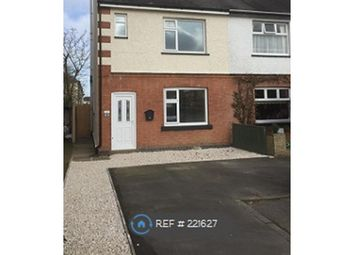 Thumbnail 2 bed semi-detached house to rent in Merevale Avenue, Hinckley