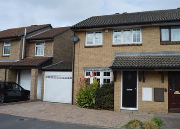 Thumbnail 4 bed semi-detached house to rent in Juniper Way, Harold Wood, Romford