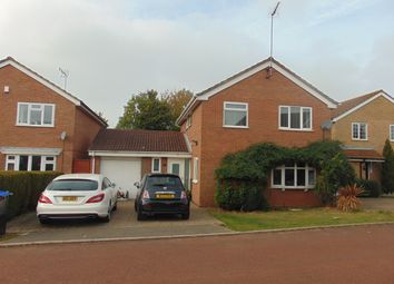 Thumbnail 4 bed detached house to rent in Fiensegate, Northampton