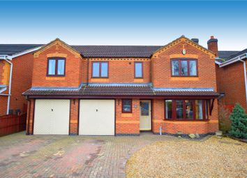 Thumbnail 6 bed detached house for sale in Sovereign Way, Heanor
