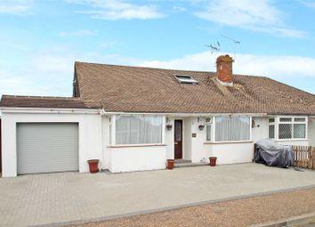 Thumbnail 4 bed bungalow for sale in Warren Crescent, East Preston, Littlehampton, West Sussex