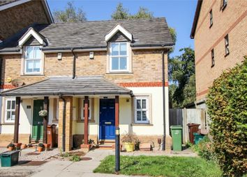 Thumbnail End terrace house to rent in Church Paddock Court, Wallington, Surrey
