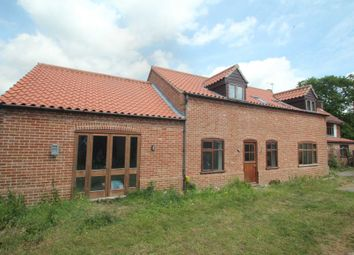 Thumbnail 5 bed detached house for sale in The Green, Freethorpe, Norwich