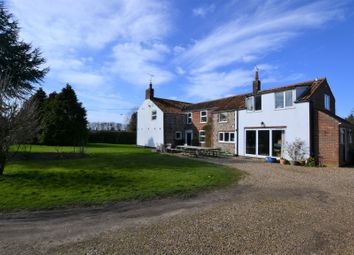 Thumbnail 5 bed detached house for sale in Bagthorpe Road, East Rudham, King's Lynn