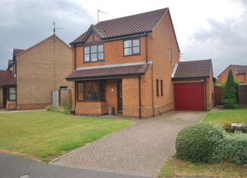 Thumbnail 3 bed detached house for sale in Poachers Gate, Pinchbeck, Spalding