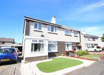 Thumbnail 3 bed semi-detached house for sale in Dunlop Crescent, Dreghorn, Irvine, North Ayrshire