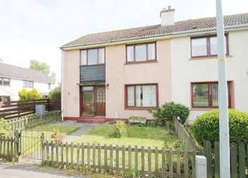 Thumbnail 3 bed semi-detached house for sale in Woodlands Drive, Invergordon