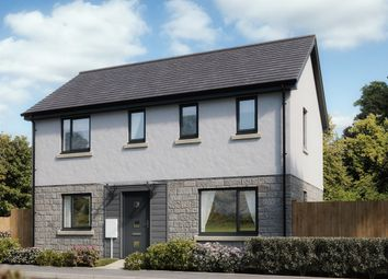 "Thumbnail 3 bed detached house for sale in ""The Clayton"" at Broxton Drive, Plymstock, Plymouth"
