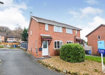 Thumbnail 3 bed semi-detached house for sale in Opal Close, Oakwood, Derby