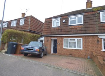Thumbnail 3 bed semi-detached house for sale in Upper Clabdens, Ware