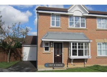 Thumbnail 3 bed semi-detached house to rent in Browning Road, Pocklington, York