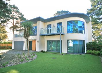 Thumbnail 4 bed detached house to rent in Crichel Mount Road, Canford Cliffs, Poole