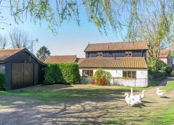 Thumbnail 3 bed detached house for sale in The Street, Thornage, Holt