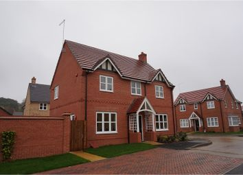 Thumbnail 4 bedroom detached house to rent in Harcourt Way, Northampton