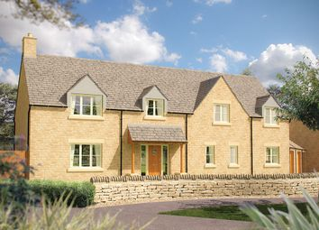 "Thumbnail 5 bedroom detached house for sale in ""The Chelworth"" at Cirencester Office, Tetbury Road, Cirencester"