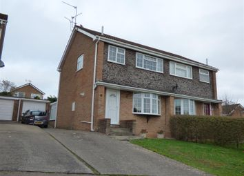 Thumbnail 3 bed semi-detached house for sale in Stuart Avenue, Chepstow