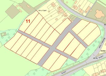 Thumbnail Land for sale in Plot 11, Heol Y Pentre, Ponthenry, Llanelli, Dyfed