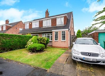 Thumbnail 3 bed semi-detached house for sale in Tewkesbury Close, Cheadle Hulme, Cheadle