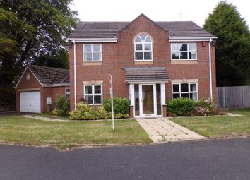 Thumbnail 4 bed detached house for sale in Dove Close, Walsall, West Midlands
