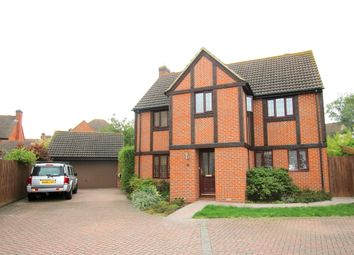 Thumbnail 4 bedroom detached house for sale in Cypress Court, Dunmow