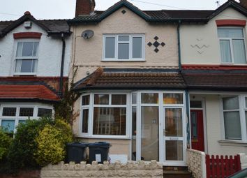 Thumbnail 2 bed terraced house to rent in 10 Windermere Road, Moseley, Birmingham