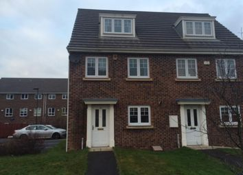 Thumbnail 3 bed town house to rent in Cosgrove Court, Benton, Newcastle Upon Tyne
