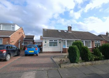 Thumbnail 3 bedroom semi-detached bungalow for sale in Blanchland Avenue, Wideopen, Newcastle Upon Tyne