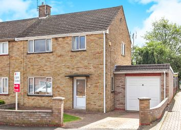 Thumbnail 3 bed semi-detached house for sale in Peake Close, Peterborough