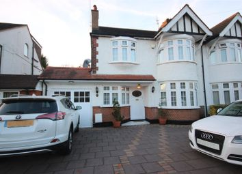 Thumbnail 5 bed semi-detached house for sale in Belmont Avenue, Cockfosters, Barnet