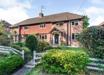 Thumbnail 4 bed semi-detached house for sale in Hollow Lane, Lingfield
