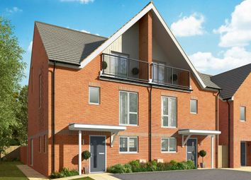 "Thumbnail 3 bed semi-detached house for sale in ""The Walnut"" at Connolly Way, Chichester"